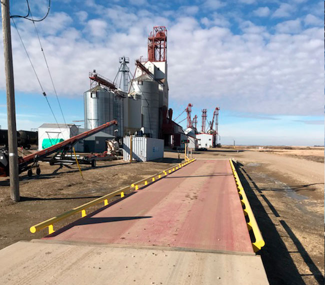 Approach to storage facility