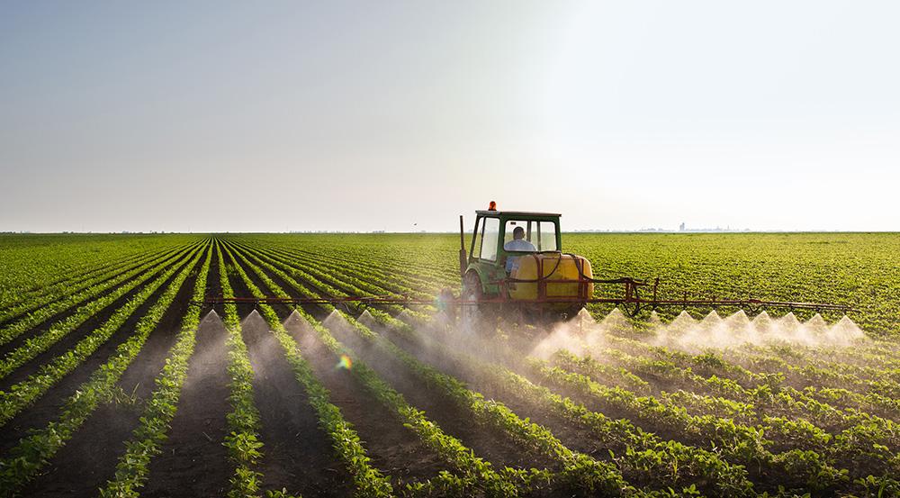 Crop-spraying
