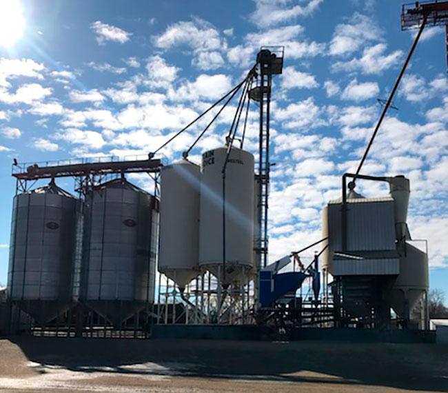 Grain storage facility
